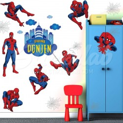 Spiderman komplet