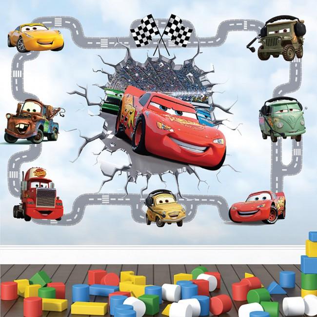 Foto tapete 3D Cars 2