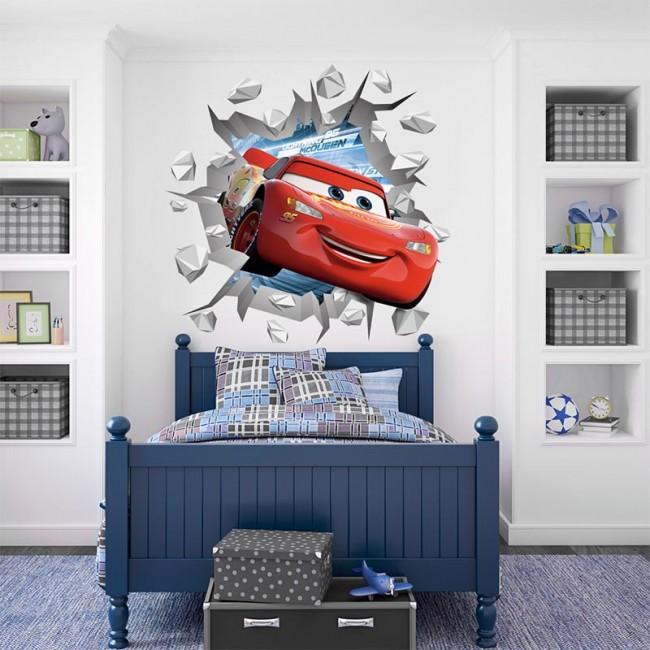 3D Cars stiker