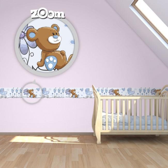 Bordure za zid Baby Boy