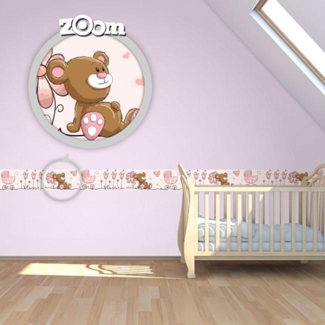 Bordure za zid Baby Girl
