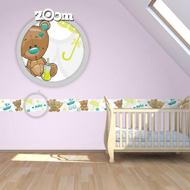 Bordure za zid Baby Shower