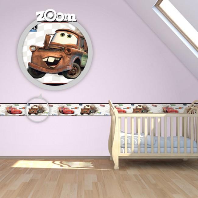 Bordure za zid Baby Cars 1