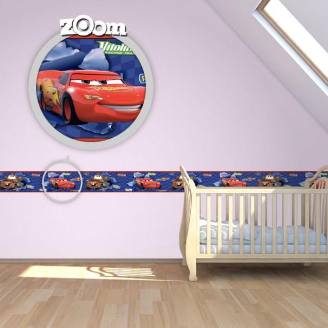 Bordure za zid Baby Cars 2