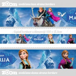 Bordure za zid Frozen Ana