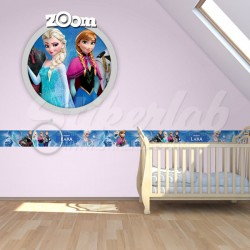 Bordure za zid Frozen
