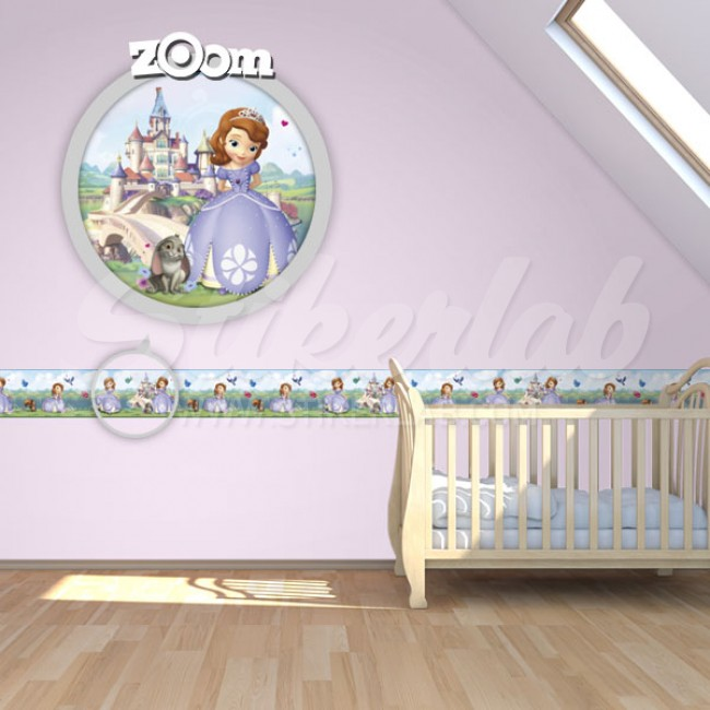 Bordure za zid Sofia The First