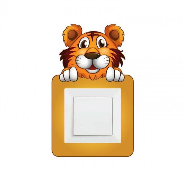 Tigric stiker oko prekidaca