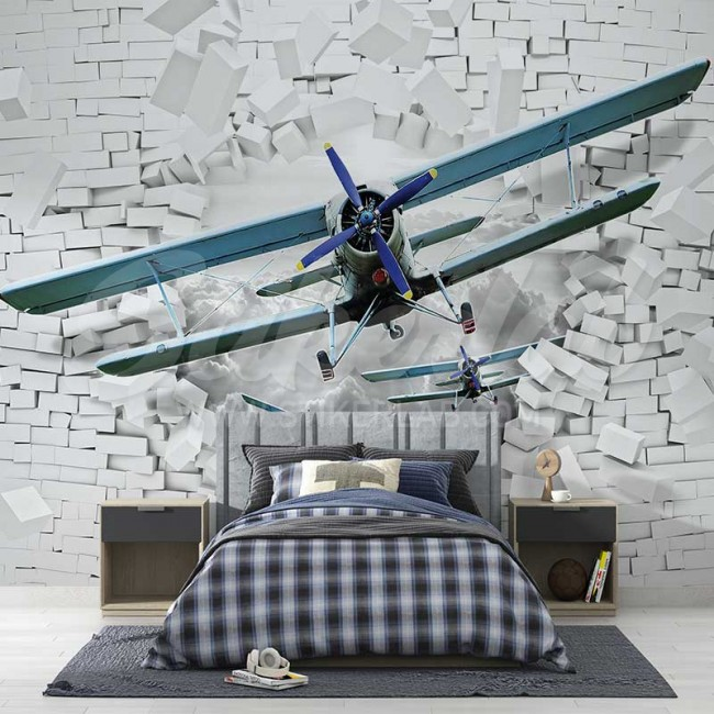 Foto Tapete 3D Avioni