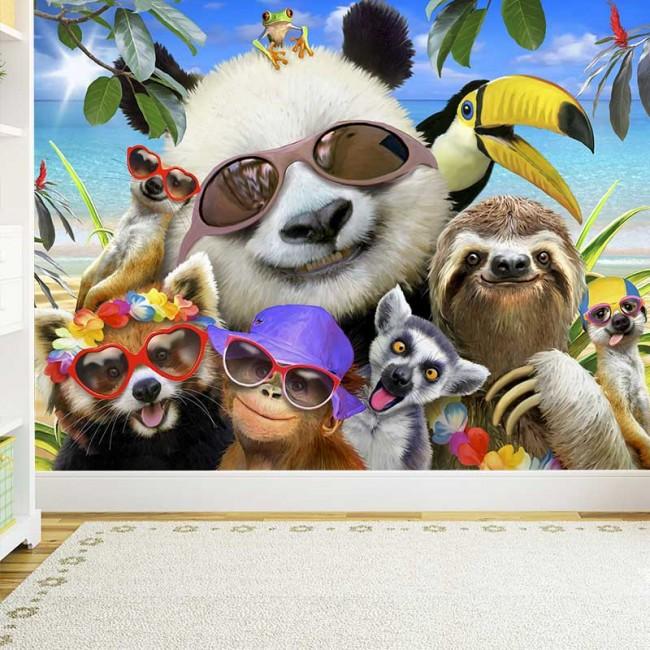 Foto Tapete Cool Animals