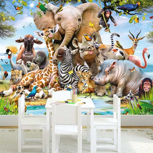 Foto Tapete Drugari Iz Džungle 2