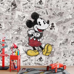 Foto Tapete Mickey Comics