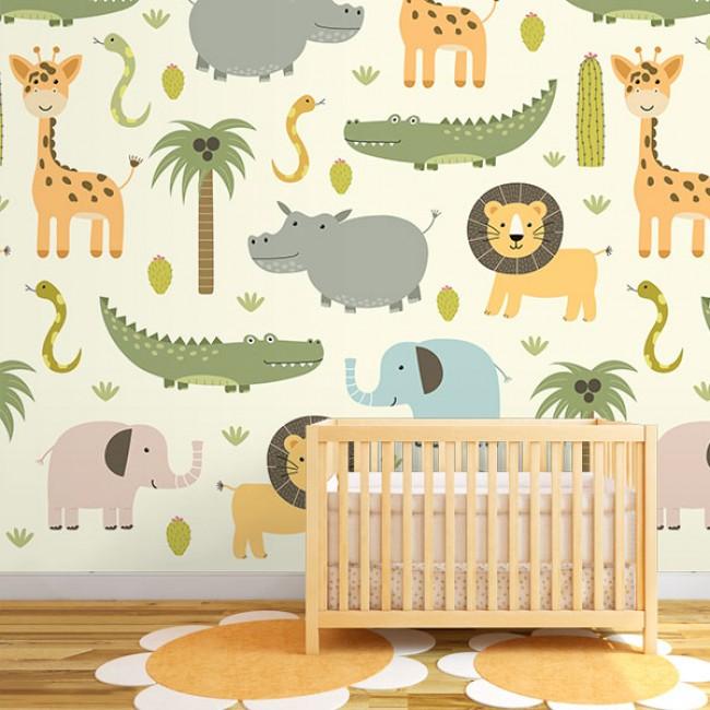Foto tapete Baby Jungle