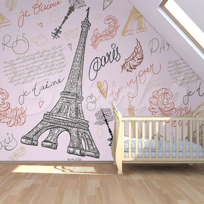 Foto tapete Iz Pariza s'ljubavlju 1
