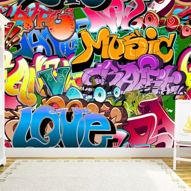 Foto tapete Grafiti