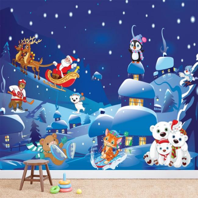 Foto tapete Winter Night